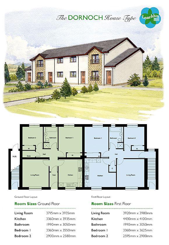 Flat For Sale Dornoch House Designs Plot 75 Leachkin