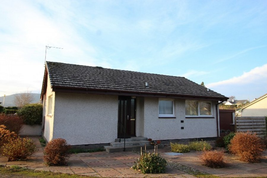 Semi detached bungalow for sale 12 ardholm place for Garage with accommodation