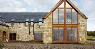 New build properties in the North of Scotland