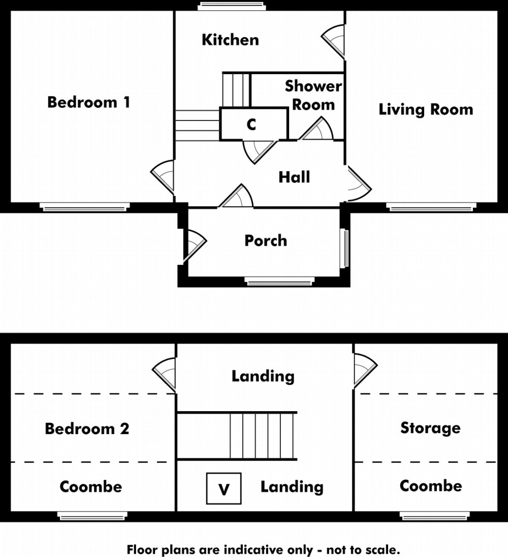 Floor plan of property