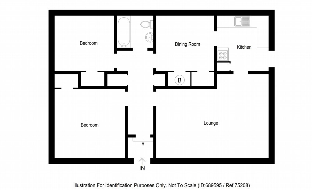 Floor plan of property