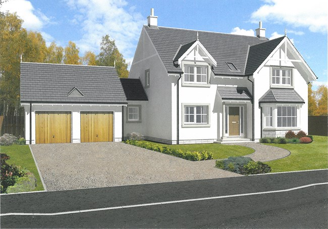 Detached villa for sale new builds fasaich strath for New homes to build