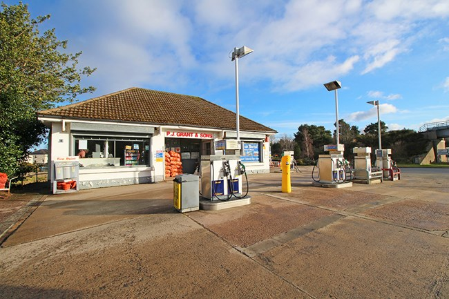 P J Grant & Sons Filling Station, Transport Yard and Workshop, Forres Road Nairn IV12 5QD