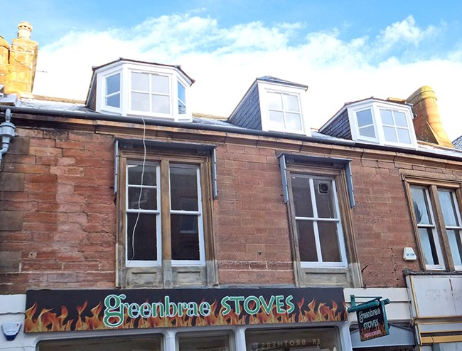 Top Flat, 48B High Street, Dingwall IV15 9HL