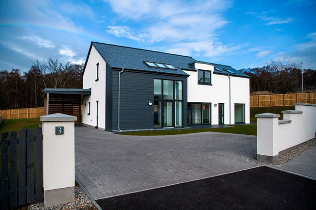 Executive Homes at Dell of Woodside, Tower Road, Inverness IV2