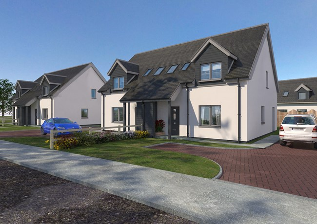 The Canna, Glenfield Development, Old Moss Road, Ullapool IV26 2TG
