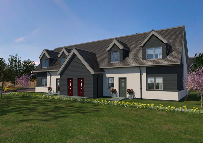 The Vatersay, Glenfield Park, North Road Ullapool IV26 2AD