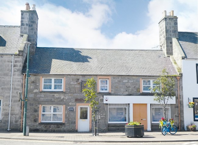 Fountain Shop and Cottage, Fountain Square, Brora KW9 6NX