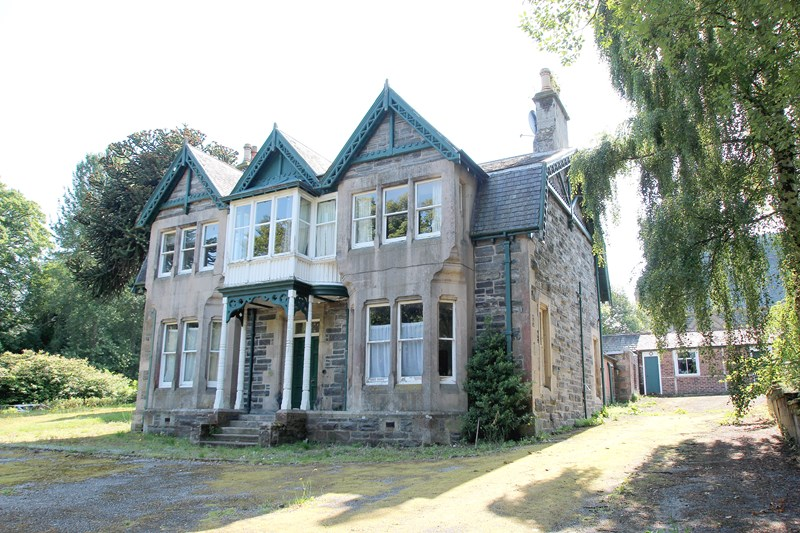 Development opportunity at Rosslyn Lodge, Strathpeffer